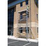 Single Width Aluminium Mobile Access Tower System