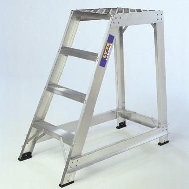 Aluminium Rigid Steps - Single Sided