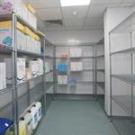 Chrome Wire Hygiene Shelving Bays