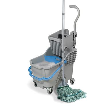 Dual Compartment Mop Unit