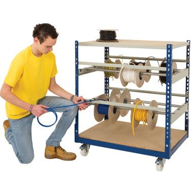 Cable Reel Storage