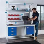 Square Tube Workbench and Cantilever Workbench Accessories