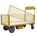 Detachable Mesh Sided Electric Platform Trucks