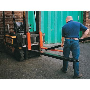 Forklift truck attachments