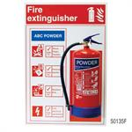 Fire Extinguisher Mounting Boards
