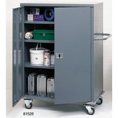 Heavy Duty Mobile Storage Cabinets & Heavy Duty Mobile Storage Cabinet 900H X 900W X 450Wmm 81994