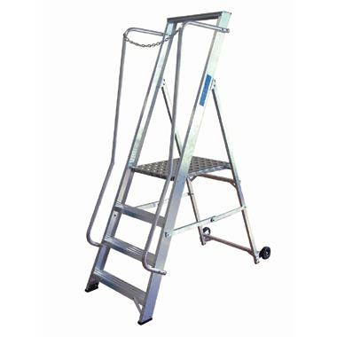 Aluminium Wide Safety Step