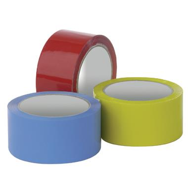 Coloured Polyprop Adhesive Tapes