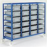 Small Parts Storage Tray Racks