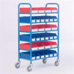 Container Racks with Containers