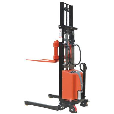 Semi Electric Staddle Stacker