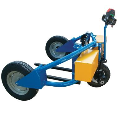 Fully Electrical Rough Terrain Pallet Truck