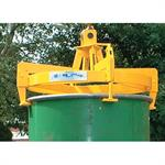 Drum Tongs - Semi Automatic Fork Truck Attachment