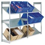 Inclined Shelving Unit
