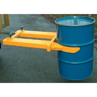 Fork Mounted Drum Grab Attachment