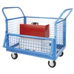 Wire Mesh Security Truck