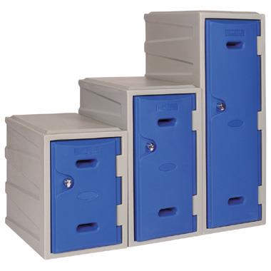 Plastic Clothes Lockers