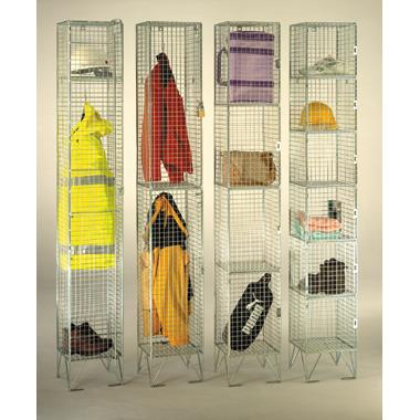 Mesh Clothes Lockers