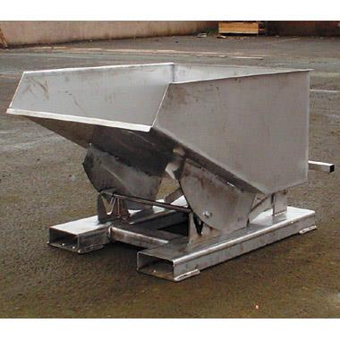 Fully Stainless Steel Self Tipping Skips
