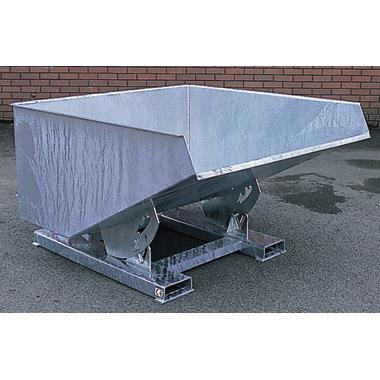 Heavy Duty Galvanised Self Tipping Skips