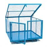Lift Up Lid Fork Liftable Cage