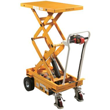 Electric Propelled Scissor Lift Tables