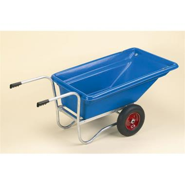 Stubby Twin Wheeled Barrow