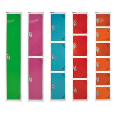 Enhanced Colour Range of Clothes Lockers