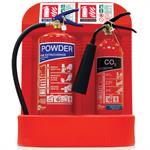 Polyethylene Fire Extinguisher Stands