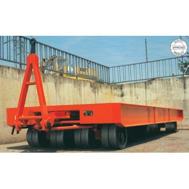 Allwheel Pivot Post Steering Heavy Duty Industrial Trailer