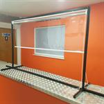 Freestanding Countertop Protection Roller Blind Unit
