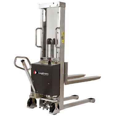 Semi Electric Stainless Steel Stacker