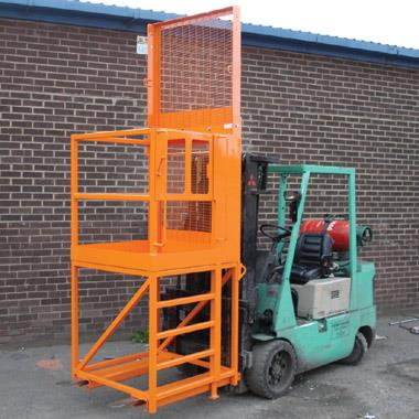 Access Platform with Extra Raised Height