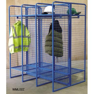 Wire Mesh Clothes Lockers