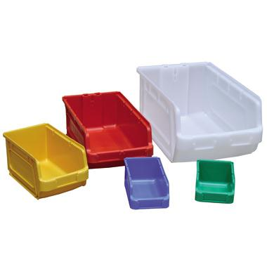 High Capacity Plastic Bins