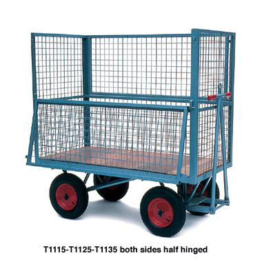 Turntable Truck to Box Cage