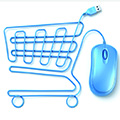 shopping trolley and mouse
