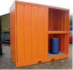 Bespoke Chemical Shed