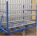 Bespoke Steel Containment Trolley
