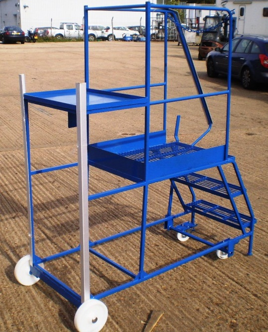 low height picking trolley