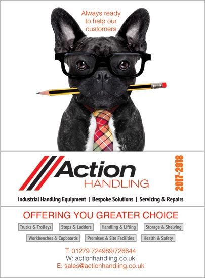 Action Handling Front Cover