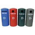 cleaning and waste bins