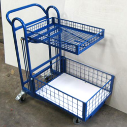 Nesting Basket Trolley - Leading High Street Retailer