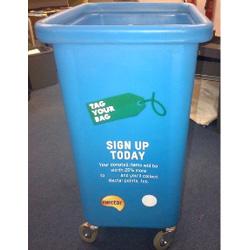 Bespoke bins fior charity
