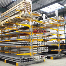Mesh Security Cage and Cantilever Racking - Orthopaedic Implant Company, Middlesex