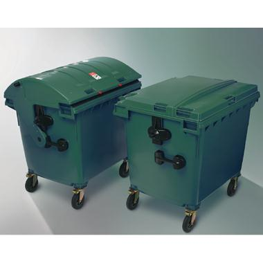 iindustrial green recycling bins